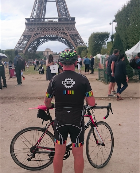 Bike Right supports London to Paris ride